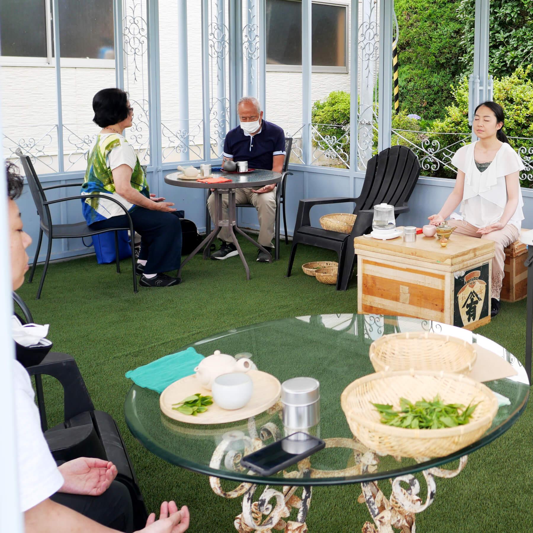 茶畑セラピー in 狭山市